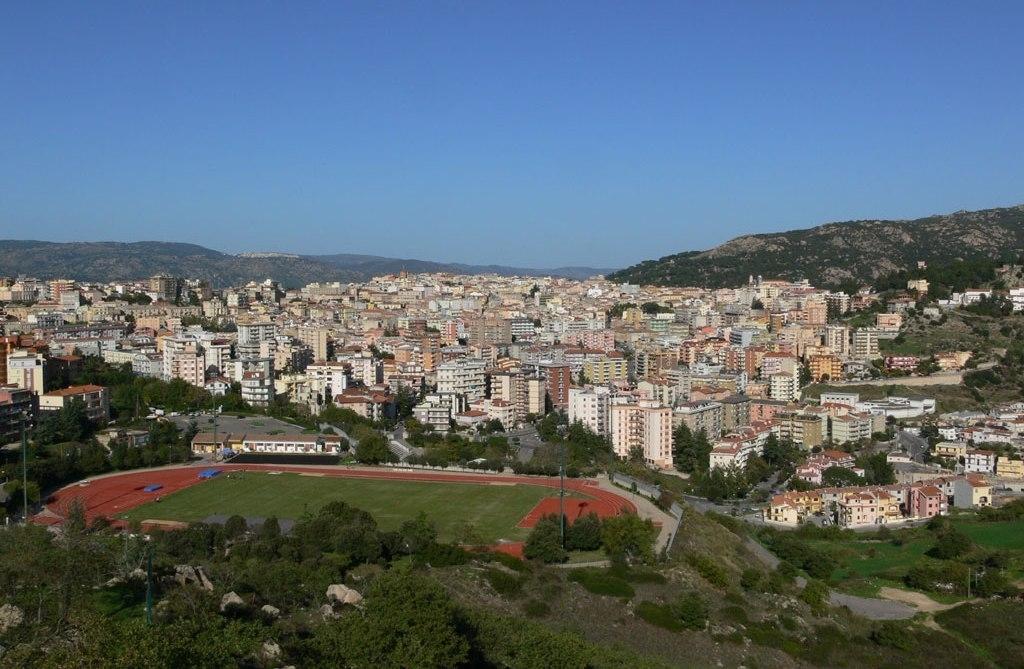 veduta della città di Nuoro Sardegna Pleinair Campeggi e