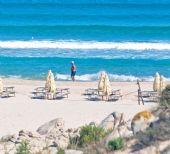 spiagge della Costa del Sud: Chia