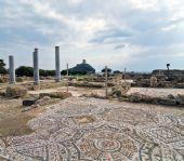 scorcio dell'antica città di Nora a Pula