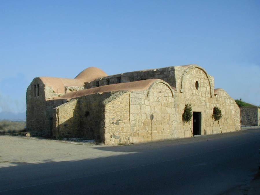 Cabras - Chiesa San Giovanni Sinis