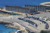 porto di Golfo Aranci - aerea dell'imbarco