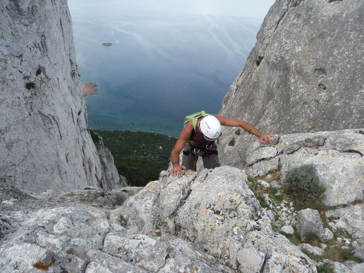 Monte Nieddu in arrampicata
