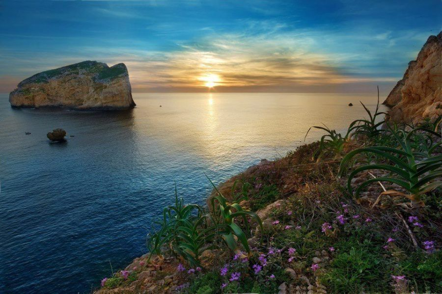 Alghero - Capo Caccia con isola Foradada