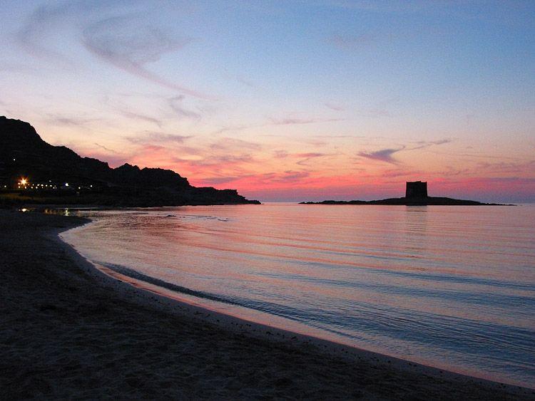 tramonto a Stintino