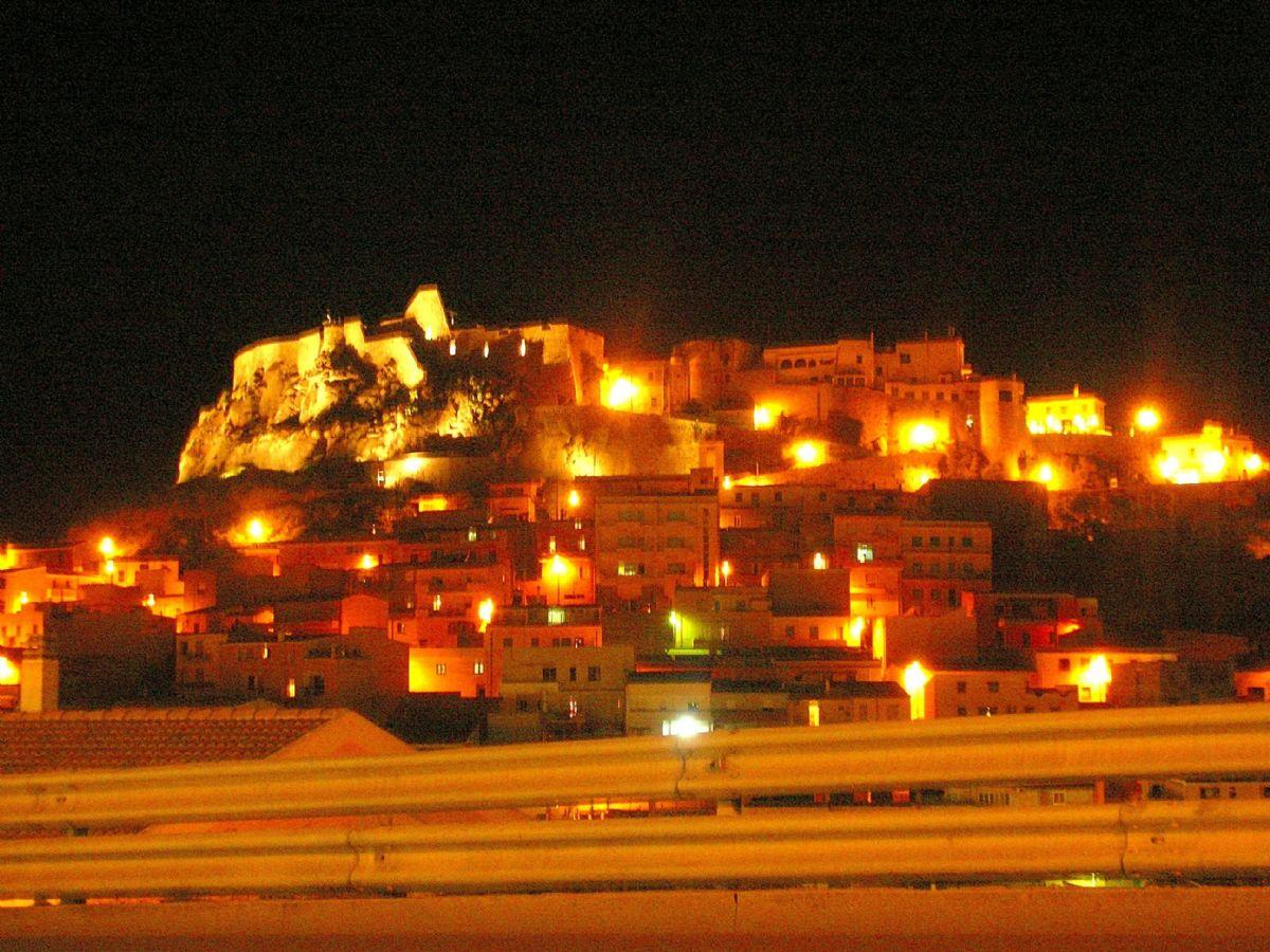 Castelsardo by night