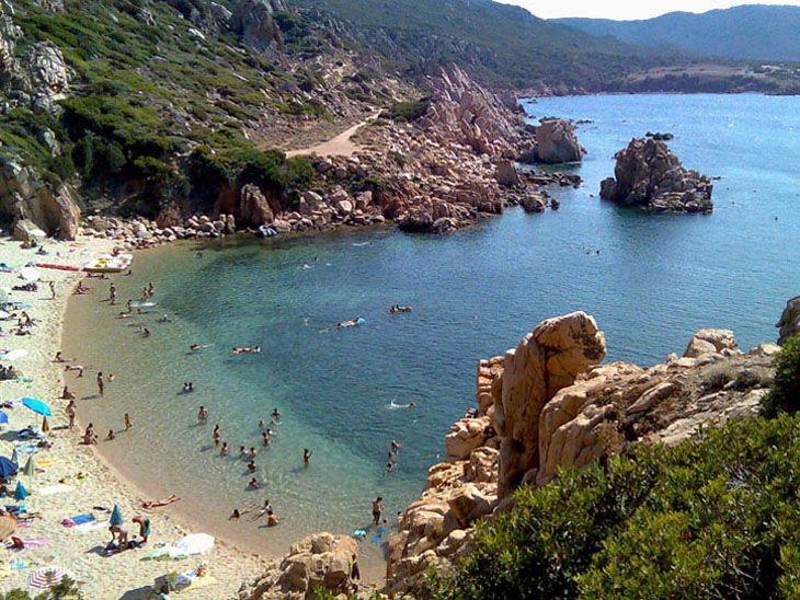 Costa Paradiso Sardegna Cartina Geografica.Spiaggia Di Costa Paradiso Li Cossi Sardegna Pleinair Campeggi E Villaggi In Sardegna