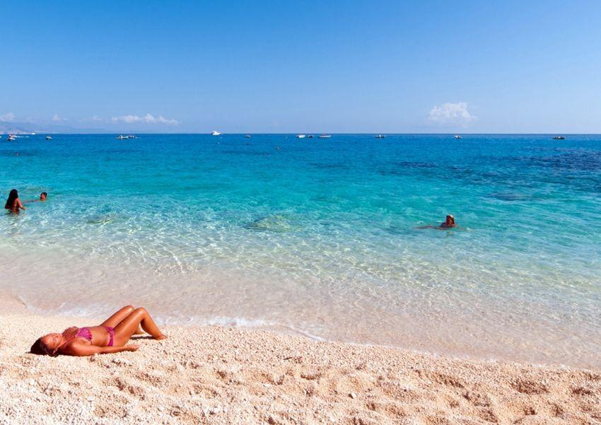 cielo mare spiaggia di Sardegna