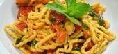 Le Lorighittas ai Crostacei ( pasta tipica di Morgongiori)