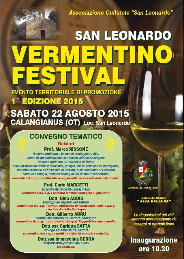 San Leonardo Calendario.San Leonardo Vermentino Festival Archivio Calendario