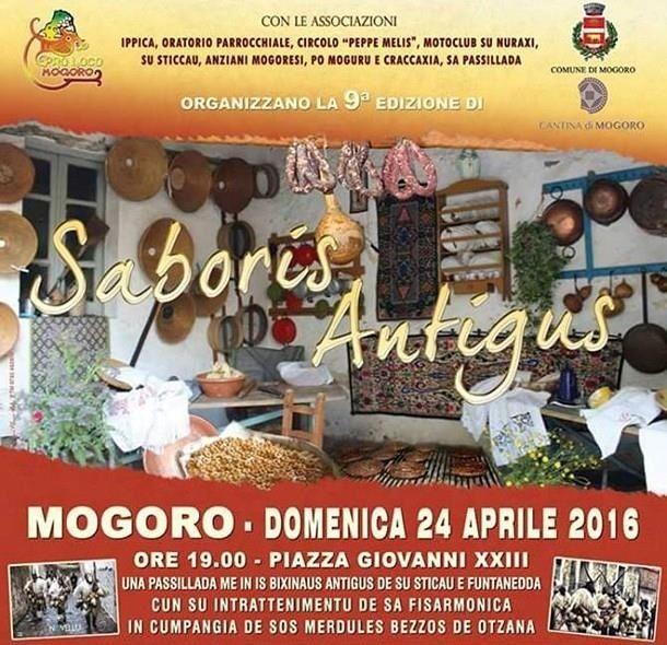 24 Aprile - Saboris Antigus