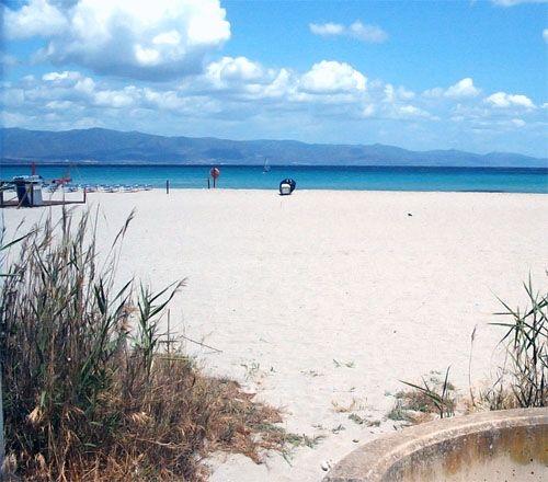 spiagge a Cagliari: il Poetto