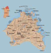 Palau Sardegna Cartina.Cartina Della Gallura Cartina Della Sardegna