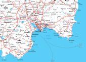 cartina del Cagliaritano
